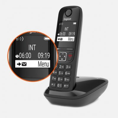 Gigaset AS690IP DECT cordless phone and base